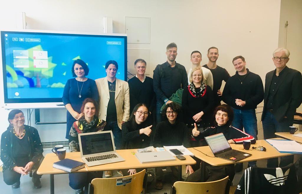 Participants of the LAWN Workshop at HU Berlin, 28-29 November 2019
